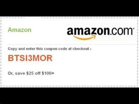 amazon promo code august  youtube