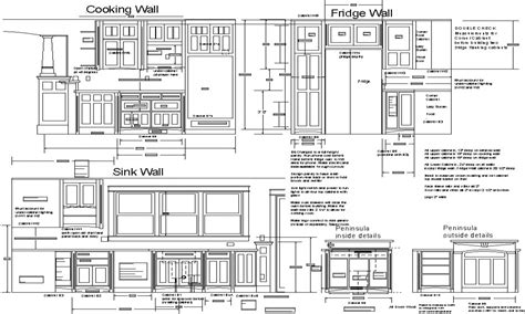 kitchen cabinet design drawing kitchen cabinet detail drawing pdf savae org 5228