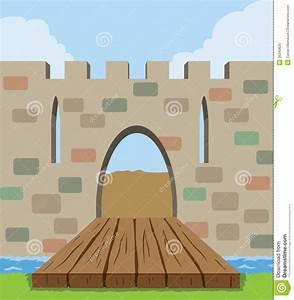 Drawbridge Icon Royalty Free Stock Photo - Image: 36340625