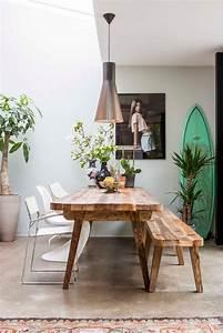 Banc De Cuisine : un banc dans la cuisine frenchy fancy ~ Premium-room.com Idées de Décoration