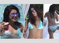 Priyanka Chopra almost SPILLS OUT of plunging bikini as