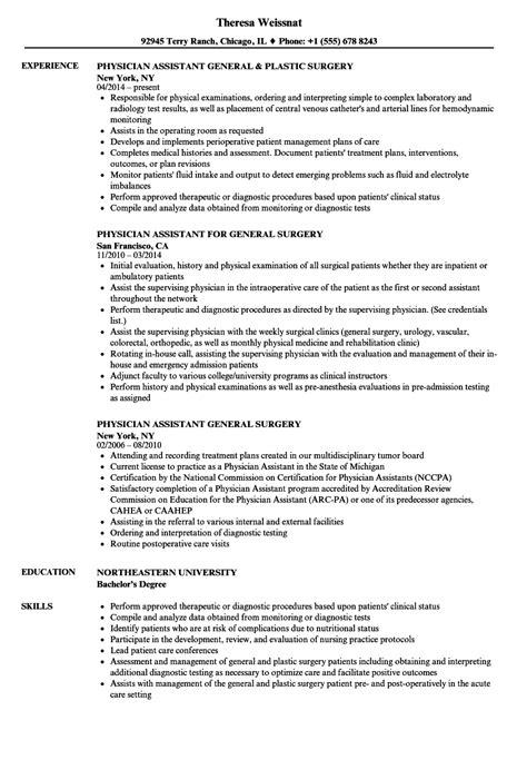 Sle Physician Resume by General Physician Resume Sles Velvet