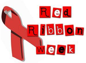 Image result for red ribbon week clip art