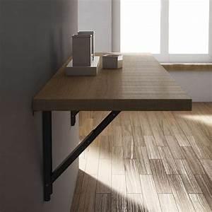 Table Pliable Murale : table murale rabattable duappoint en stratifi vulcano with table mural rabattable ~ Preciouscoupons.com Idées de Décoration