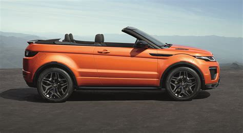 Land Rover Car : 2017 Range Rover Evoque Convertible Review