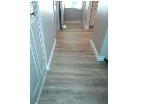 vinyl plank flooring hallway germano creative interior contracting ltd chagne oak kitchen