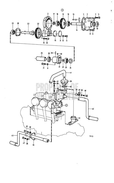 volvo penta exploded view schematic manual starter