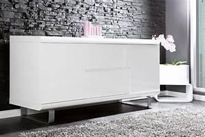 Www Riess Ambiente Net : design sideboard spacy weiss hochglanz und eiche 2 t ren 2 schubladen bei riess ambiente ~ Bigdaddyawards.com Haus und Dekorationen