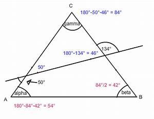 K Alpha Linie Berechnen : dreieck winkel alpha berechnen in der figur gamma ist ~ Themetempest.com Abrechnung