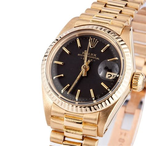 Pre Owned Rolex Ladies President Watch 6917 - Bob's Used ...