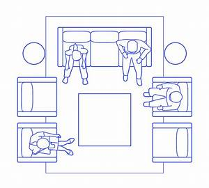 Living Room Layouts Dimensions  U0026 Drawings