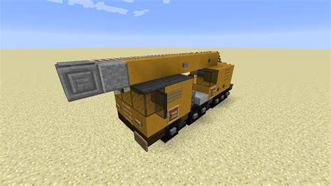 minecraft pickup truck detail movable crane minecraft minecraft