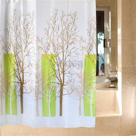 Waterproof Shower Curtains by Waterproof Bathroom Fabric Shower Curtain Liner Polyester