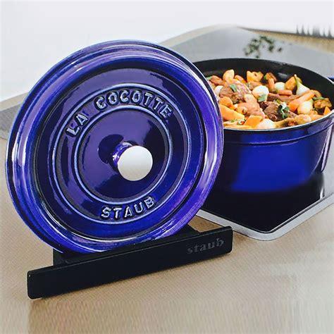 staub cast iron lid holder cutlery