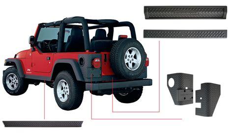 jeep body bushwacker jeep kits bushwacker jeep body kit