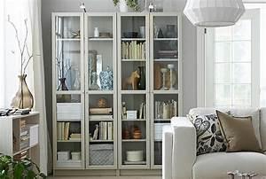 Bibliothèque Vitrée Ikea : biblioth ques meubles biblioth ques ikea ~ Teatrodelosmanantiales.com Idées de Décoration