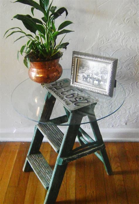 repurposed  ladder ideas  designs