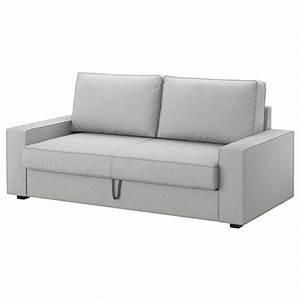 Kleines Sofa Zum Ausziehen : vilasund marieby 3 seat sofa bed orrsta light grey ikea living room ~ Frokenaadalensverden.com Haus und Dekorationen