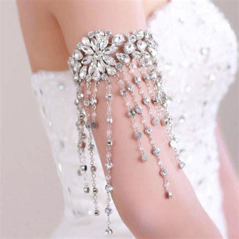 rhinestone flower bracelet high quality flower bridal bracelet rhinestones