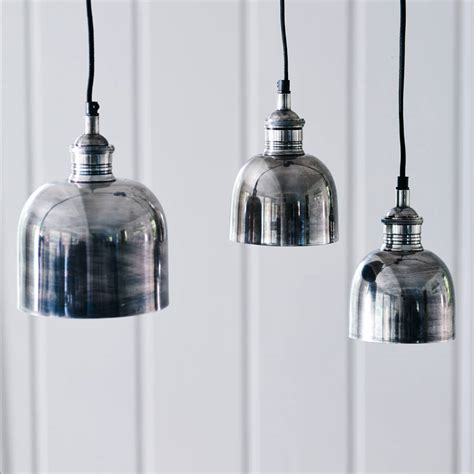silver lantern pendant light flori tarnished silver pendant light by rowen wren