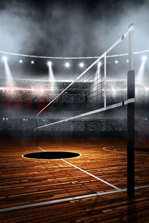 digital background volleyball stadium digital