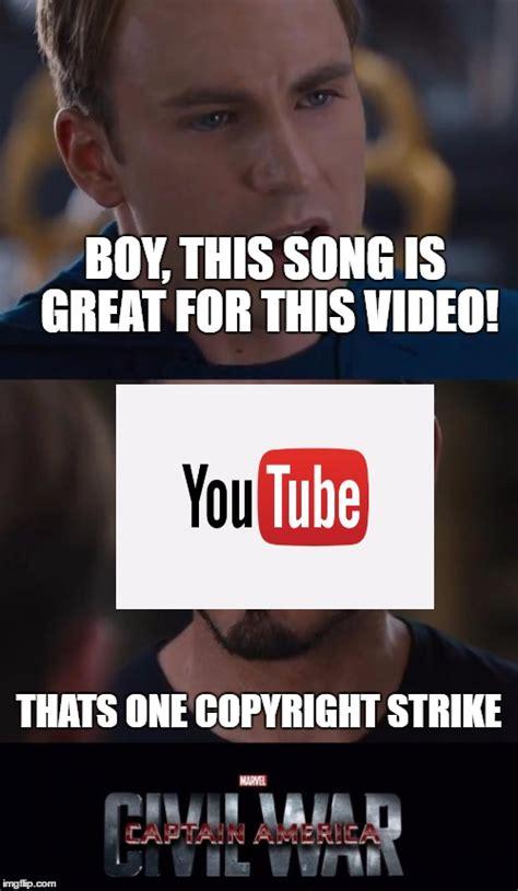 Copyright Meme - ahhh youtube imgflip