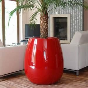 Pot De Fleur Interieur Design : grand pot plante et design laqu silba tous coloris ~ Premium-room.com Idées de Décoration