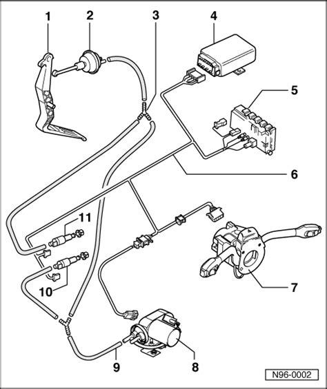 Volkswagen Workshop Manuals Golf Vehicle Electrics