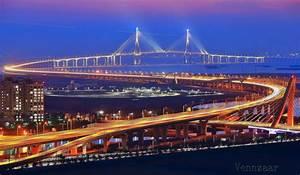 Incheon Bridge at Night