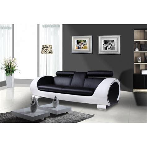 canapé d angle rue du commerce canape design blanc et noir