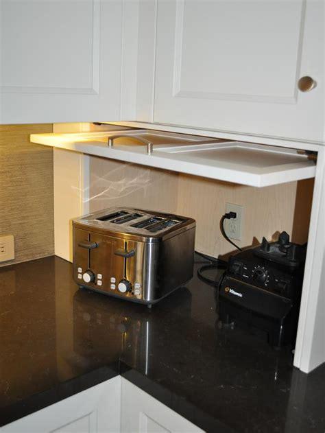 white shaker cabinet appliance garage designers