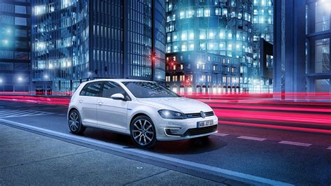 volkswagen golf gte plug  hybrid wallpaper hd car