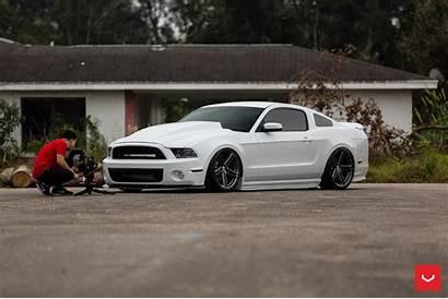 Mustang Vossen Ford Vfs Wheels Turbocharged Dela
