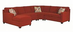 kincaid furniture brooke five piece sectional sofa With kincaid furniture sectional sofa