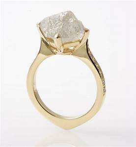natural raw beauty of uncut diamonds baroque jewellery With rough diamond wedding ring