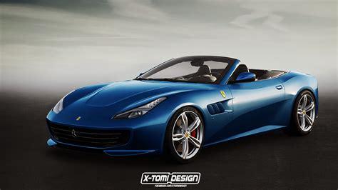 La gamme Ferrari GTC4 Lusso par X-Tomi Design