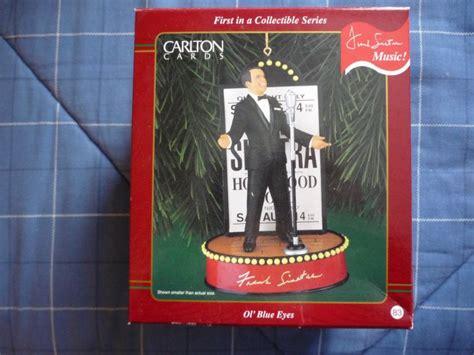 frank sinatra singing ornament carlton