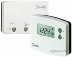 Danfoss Tp4000 Rf Prog R  Stat Plus Rx1   Danfoss