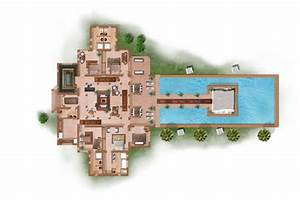 plan de maison moderne avec piscine la seine 2 plainpied With superior plan de maisons gratuit 5 maison contemporaine avec piscine interieure apla