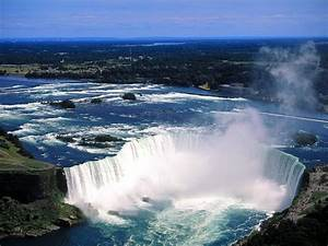World, Visits, Welcome, To, Niagara, Falls, Colorful, View, In, Ontario