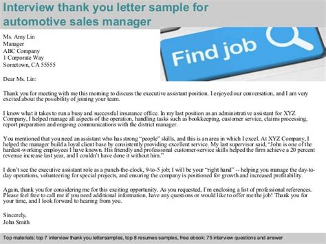 thank you for meeting with our company letter