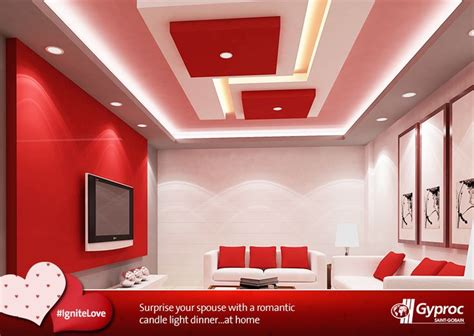 pin  gyproc india  ignite love false ceiling cost