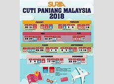 Kalendar Cuti Umum 2018 Malaysia Public Holidays