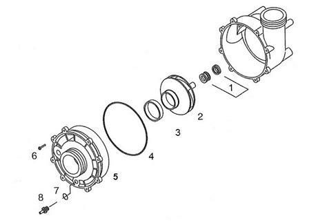 aqua flo flo master xp spa pump replacement parts