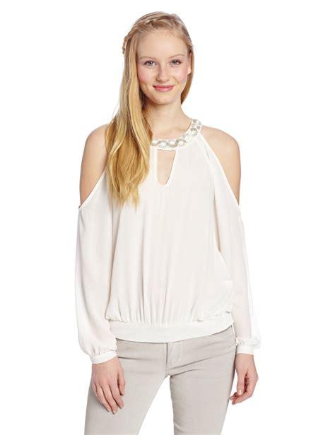 cold shoulder blouses cold shoulder blouse tops silk blouses
