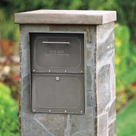 locking mailbox residential usps approved oasis column mailbox from locking mailboxes