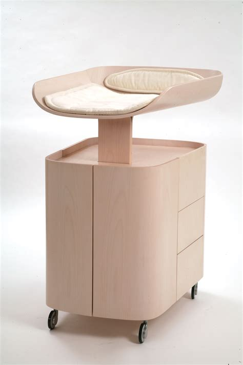 white changing table dresser ergonomic baby changing tables by bybo digsdigs