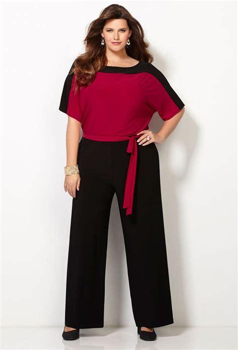 wide leg jumpsuit plus size plus size sleeve colorblocked jumpsuit wide leg