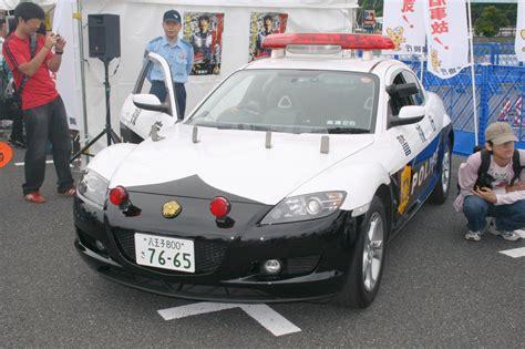 Mazda Rx-8 Police Car In Tokyo.jpg
