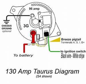 Ford Taurus Alternator Wiring Diagram